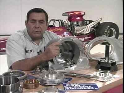 The Racing Chevy 400 Turbo Automatic Transmission - Dvd - Step By Step Build