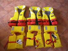 6 Platinum Life Jackets. Mirrabooka Stirling Area Preview