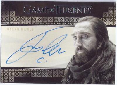 Game of Thrones InfleXions International Joseph Mawle as Benjen Stark Auto Card