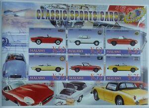 Classic automobiles vintage cars Triumph Mercedes Jaguar m/s Malawi M0966 IMPERF - Olsztyn, Polska - Classic automobiles vintage cars Triumph Mercedes Jaguar m/s Malawi M0966 IMPERF - Olsztyn, Polska