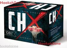 108 Pcs CHx Coconut Coal Hookah John Charcoal Coco Chronic Titanium Nara 1KG