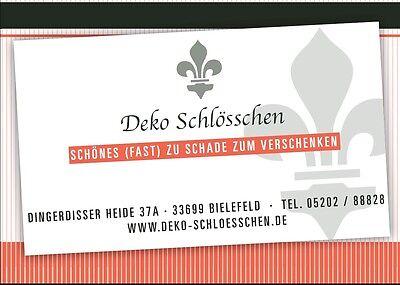 Deko Schlösschen