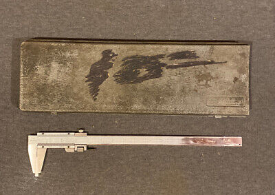 Mitutoyo 160-124 Inside Outside 0-12 Vernier Caliper Used Free Ship