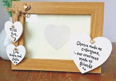 personalised PHOTO FRAME LEAVING GIFT