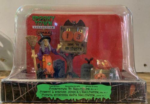 LEMAX SPOOKY TOWN - Countdown To Halloween #13893 (2011) NIB