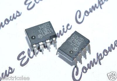 2pcs - Motorola Tl082c Ic - Genuine Nos