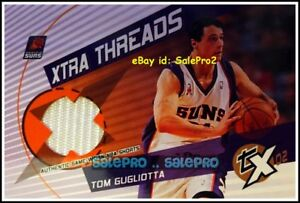TOPPS-TX-2002-TOM-GUGLIOTTA-NBA-PHOENIX-SUNS-XTRA-THREADS-GAME-JERSEY-XTTG