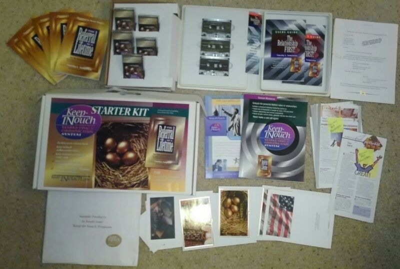 REFERRAL OF A LIFETIME Keep-InTouch Marketing & Communication System Starter Kit