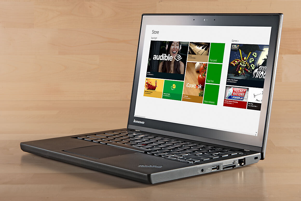 Lenovo thinkpad x240 i5 4300u 4 go / 128 ssd webcam azerty