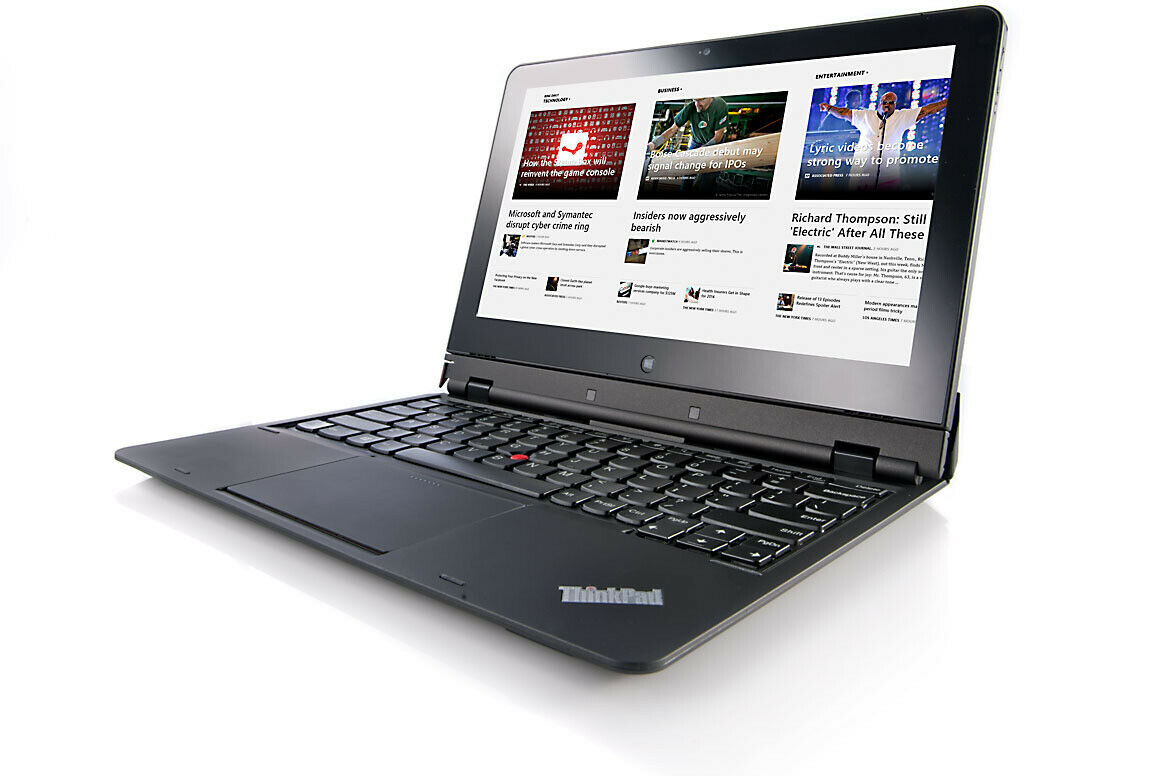 Laptop Windows - Lenovo Touchscreen Ultrabook Helix 2 in 1  i5 CPU 4GB RAM, 180GB SSD Windows 10