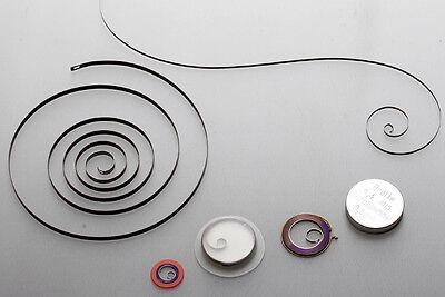 eine AUFZUGFEDER für Armbanduhr / Taschenuhr / Wecker: AUSWAHL aus 1000 Größen