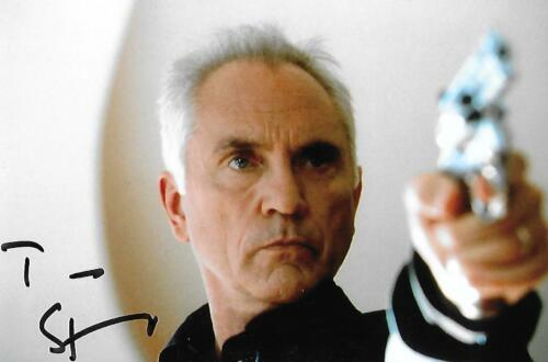 Terence Stamp signed Superman Star Wars Wall Street Movie Actor Rare COA LOOK!!