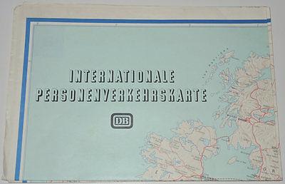 Internationale Personenverkehrskarte 1984