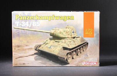 Dragon 7564 Panzerkampfwagen T-34//85-1:72