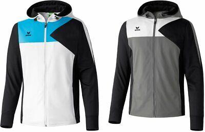 Erima Kapuzenjacke Premium One Gr. M XL XXL Trainingsjacke Hoodie Sportjacke - Premium Atmungsaktive Jacke