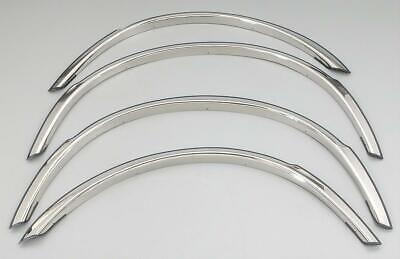 THE BEST! FENDER TRIM FOR MERCEDES BENZ C-CLASS 01-07 Stainless High Polish