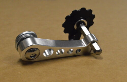 New Anodized (SILVER) Single Speed Bike Bicycle Chain Tensioner