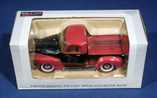 SpecCast 1952 Chevrolet Advertsg Liberty Classics Die Cast Metal Car Bank in Box