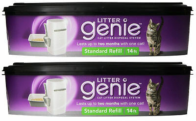 Litter Genie Cat Litter Disposal System REFILL Cartridge - 2 Each