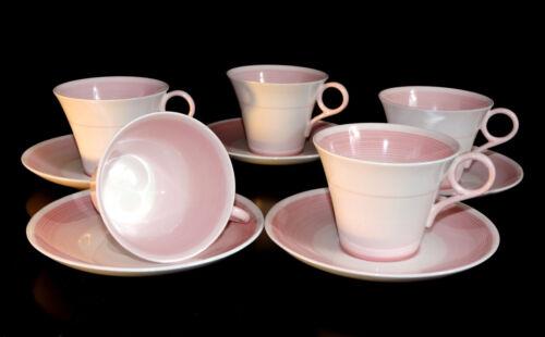Shelley Cup Saucer Regent Shape no 12872 Pink Bands