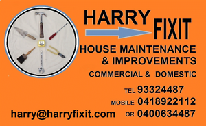HARRY FIXIT Willetton Canning Area Preview