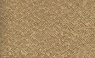 Wallpaper Designer Brown and Tan Large Faux Bamboo Basket Weave