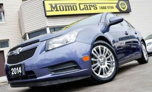 2014 Chevrolet Cruze Eco! Cruise+BackUp Cam! ONLY $94/bi-weekly!