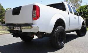 2008 NISSAN NAVARA TURBO DIESEL 4X4 AUTO REGO AND RWC