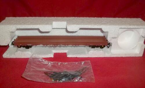 Berliner Bahnen 1:120 Model TT Open Flat Freight Car 15511 Brown Original Box