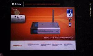 D-Link DI 524 Wireless G Broadband Router Tamworth Tamworth City Preview