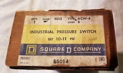 Square D 9012 Acw-4 Industrial Pressure Switch Newsurplus