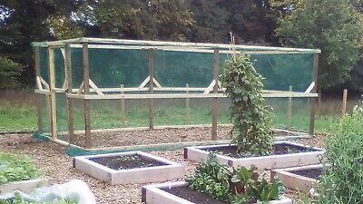 Walk in Fruit Cage. 2.4m by 2.4m @ 2.1 high.