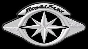 Yamaha Royal Star XVZ 1300 XVZ1300 Parche bordado Thermo-Adhesiv iron-on patch - <span itemprop=availableAtOrFrom>Poznan, Polska</span> - Zwroty są przyjmowane - Poznan, Polska