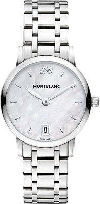 108764 | Maker NEW MONTBLANC STAR CLASSIQUE STAINLESS STEEL 34MM WOMEN'S WATCH