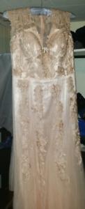 Champaign Wedding Dress