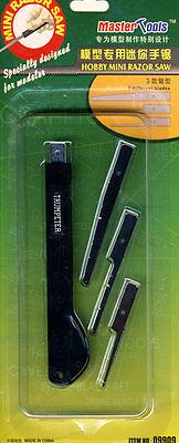 Trumpeter Hobby Mini Razor Saw MiniSäge Säge 3 Verschiedene Blätter Tipp NEU OVP