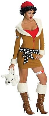 Betty Boop Aviator Pilot Retro Pinup Fancy Dress Up Halloween Sexy Adult Costume ()