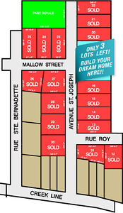 Pain Court Rural lots for sale