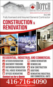 Highly  recommended experienced general contractor