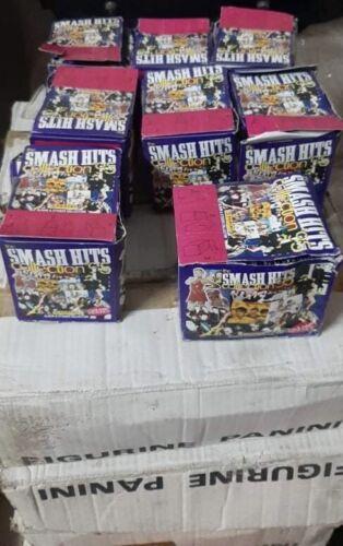 Panini Box 1995 SMASH HITS Stickers KOBAIN MADONNA BON JOVI NIRVANA TAKE THAT