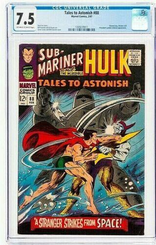 Tales to Astonish #88 CGC 7.5