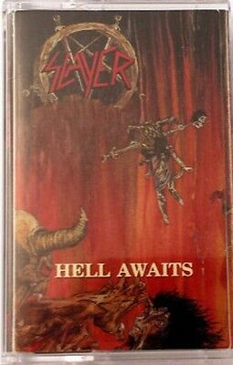 SLAYER ‎- Hell Awaits CASSETTE TAPE - SEALED New Copy Thrash Metal Classic 2015