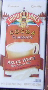 12 Packets LAND O LAKES (YOU PICK FLAVOR) HOT CHOCOLATE COCOA MIX ~ Add  Water