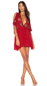 Free  People Coral Dress  - X-Small