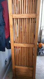 Tropical Hardwood Bookcase