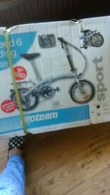 Proteam Sports fold up bicycle