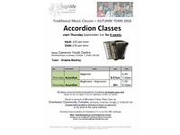 Accordion Classes - TMC with High Life Highland