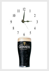 Guinness  Wall clock  Great gift Personalised Free