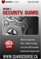Security Guard License Online Training Course - $199