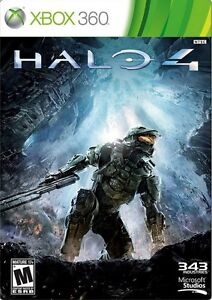 Halo 4 XBOX 360 Game Microsoft BRAND NEW & SEALED